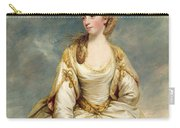 Miss Sarah Campbell Carry-all Pouch by Sir Joshua Reynolds