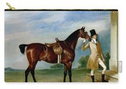 Miss Villebois Bay Hunter Held By A Groom Carry-all Pouch