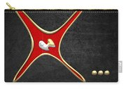 Miss X... Carry-all Pouch by Serge Averbukh