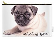 Missing You... Carry-all Pouch by Edward Fielding
