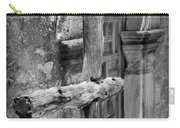 Mission Espada - Wooden Cross - Bw Carry-all Pouch