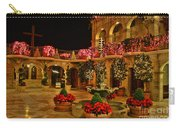Mission Inn Christmas Chapel Courtyard Carry-all Pouch