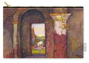 Mission Of San Juan Capistrano By Rowena Meeks Abdy 1887-1945  Carry-all Pouch