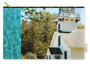 Mission Point Light House Michigan Carry-all Pouch