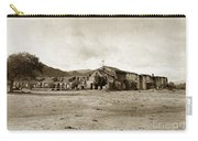 Mission San Antonio De Padua California Circa 1903 Carry-all Pouch