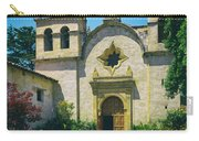 Mission San Carlos - Carmel California Carry-all Pouch