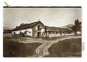 Mission San Rafael California  Circa 1880 Carry-all Pouch