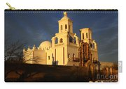 Mission San Xavier Del Bac Last Light Carry-all Pouch