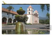 Mission Santa Barbara And Fountain Carry-all Pouch