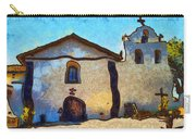 Mission Santa Ines Carry-all Pouch