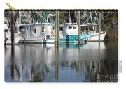Mississippi Boats Carry-all Pouch by Carol Groenen