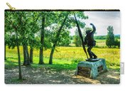 Mississippi Memorial Gettysburg Battleground Carry-all Pouch by Bob and Nadine Johnston