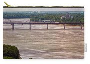 Mississippi River At I-72 Carry-all Pouch