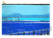 Mississippi River Bridge Poster Carry-all Pouch
