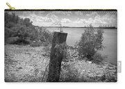 Mississippi River - Bw Carry-all Pouch