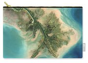 Mississippi River Delta, 2001 Carry-all Pouch
