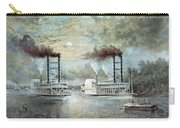 Mississippi River Race, C1859 Carry-all Pouch