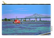 Mississippi River Scene Poster Carry-all Pouch