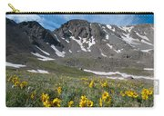 Missouri Mountain And Wildflower Landscape Carry-all Pouch