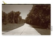 Missouri Route 66 2012 Sepia. Carry-all Pouch by Frank Romeo