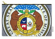 Missouri State Seal Carry-all Pouch