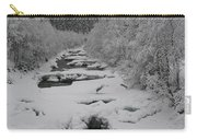 Mist Above The Creek Carry-all Pouch