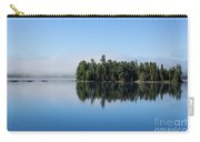 Mist On Lake Of Two Rivers Carry-all Pouch