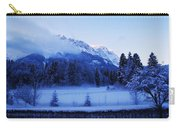 Mist Over Alps Carry-all Pouch