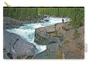Mistaya Canyon Along Icefield Parkway In Alberta Carry-all Pouch