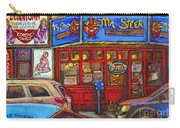 Mister Steer  Restaurant Carry-all Pouch