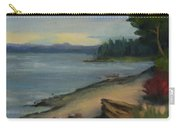 Misty October Puget Sound Carry-all Pouch