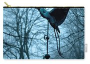 Misty Egret Carry-all Pouch