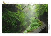 Misty Evening At Watkins Glen Carry-all Pouch
