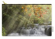 Misty Falls At Coker Creek Carry-all Pouch