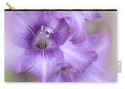 Misty Gladiolas Carry-all Pouch