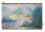 Misty Morn On A  Mountain Lake Carry-all Pouch