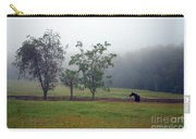 Misty Morning At The Farm Carry-all Pouch