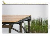 Misty Morning By The Dock Carry-all Pouch