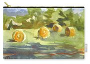 Misty Morning Gold Carry-all Pouch