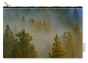 Misty Morning In The Pines Carry-all Pouch