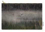 Misty Morning Mergansers Carry-all Pouch