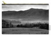 Misty Mountain Morning Carry-all Pouch by Dan Sproul