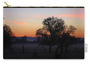 Misty November Morn Carry-all Pouch