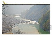 Misty Seti River Rapids In Nepal  Carry-all Pouch