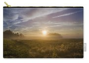 Misty Sunrise At Valley Forge Carry-all Pouch