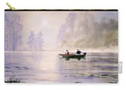 Misty Sunrise On The Lake Carry-all Pouch