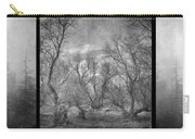 Misty Trees Tryptic Carry-all Pouch
