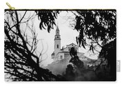Misty View Of Monserrate Church Carry-all Pouch
