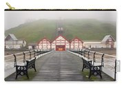 Misty View Of Victorian Pier  Redcar Carry-all Pouch