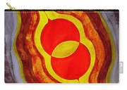 Mitosis Of Worlds Original Painting Carry-all Pouch